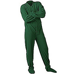 All in One Footed Pyjamas for Adults – Hunter Green (Extra Large)