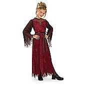 Rubies Fancy Dress - Gothic Enchantress Costume - Child Medium - UK Size 5-7 Years