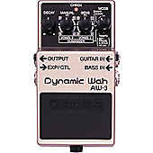 Boss AW-3 Dynamic Wah Effects Pedal