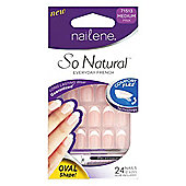 Nailene So Natural Artificial Nails Ovals 71513