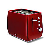 Morphy Richards 221105 Chroma 1000W Plastic Toaster, Red