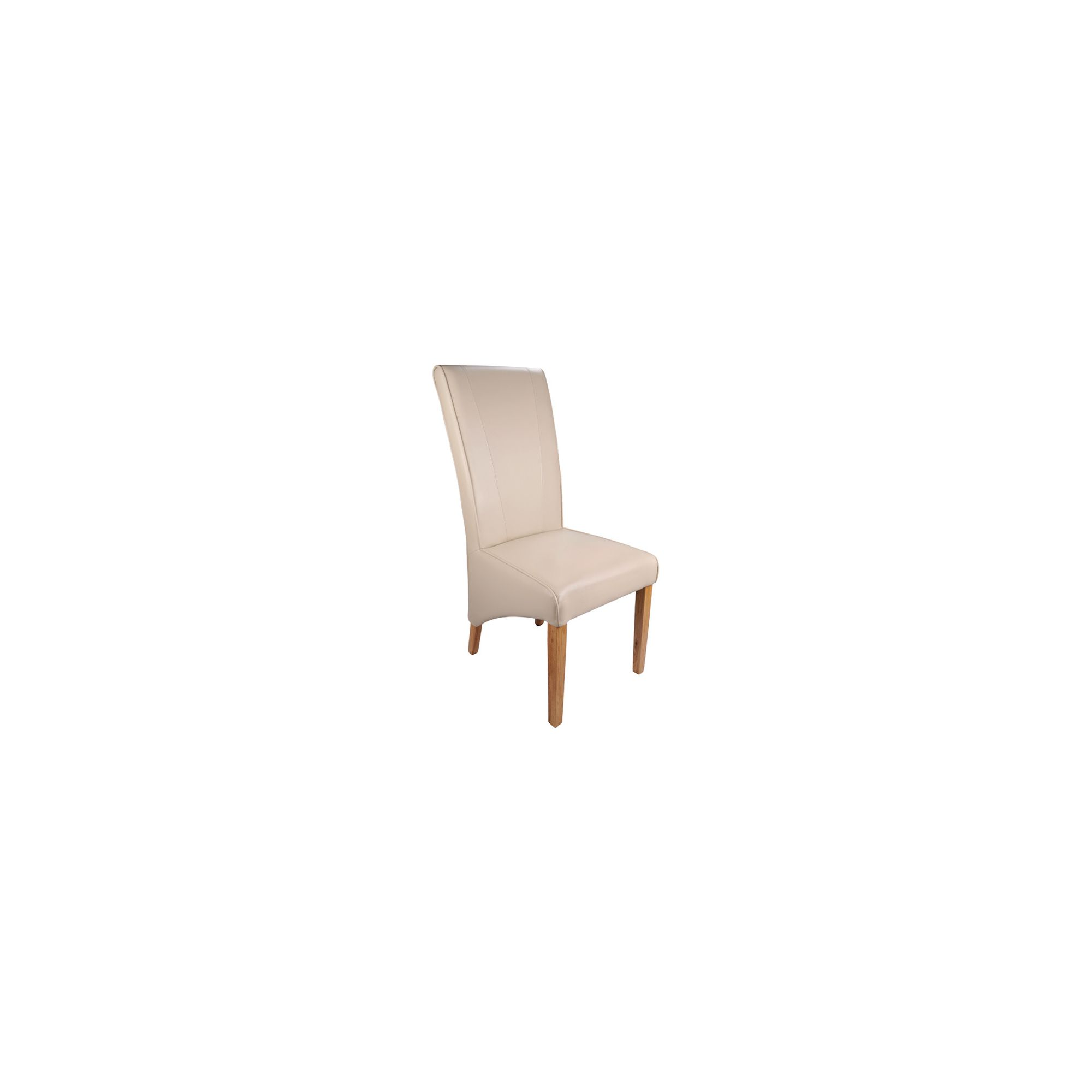 Shankar Enterprises Ma**eille Madras Leather Dining Chair (Set of 2) - Ivory