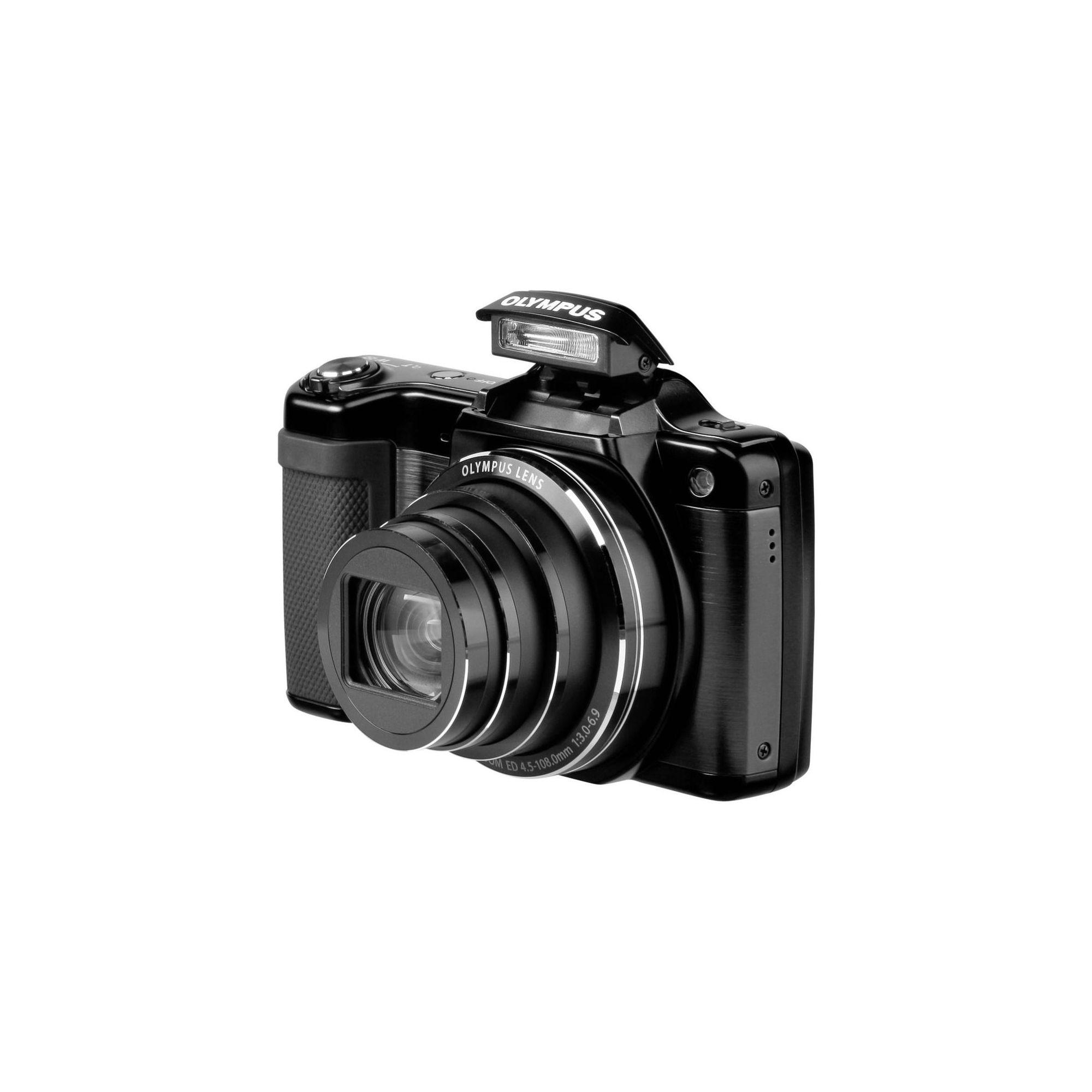 Olympus SZ-15 Compact Digital Camera in Black