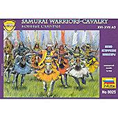Zvezda - Samurai Warriors - Cavalry XVI-XVII A.D. - 1:72 Scale 8025
