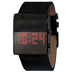 Black Dice Gamer Mens LED Light Watch BD05605