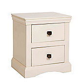 Home Essence Quebec 2 Drawer Bedside Cabinet