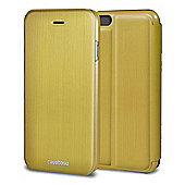 CaseBase Flip Folio Case for Apple iPhone 6 and Iphone 6s - Gold