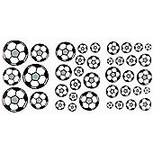 72 Football Wall Stickers