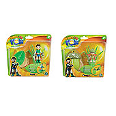 "Tree Fu Tom Bundle Deluxe 3"" Figures - Tom And Twiggs"