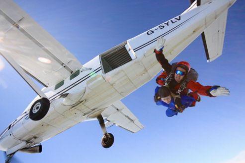 Tandem Skydive (UK Wide) - Weekdays