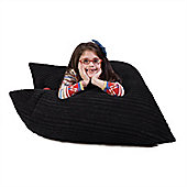 Lounge Pug™ Junior Bean Bag - Black