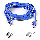 Belkin 3m Cat5 RJ45 Snagless Patch Cable Blue