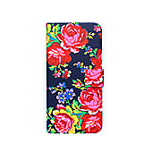 Accessorize iPhone 6 Book Case Russian Rose - Navy