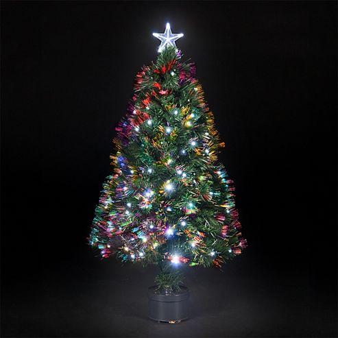 3ft Christmas Tree Fibre Optic