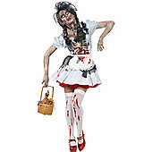 Zombie Dorothy - Adult Costume Size: 16-18