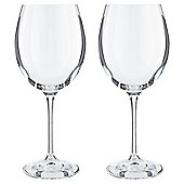 RCR Everyday Crystal Red Wine Glass, 2 pack
