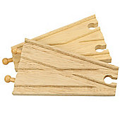 Bigjigs Wooden Railway Track Splitters x 2