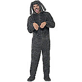 Fluffy Dog - Adult Costume Size: 42-44