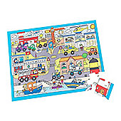 ELC Emergency Vehicles City Puzzle