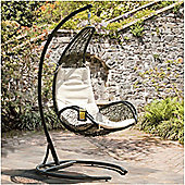Curve Rattan Hanging Swing Chair