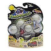 Crashlings Series 1 Dinos 4 Figures Pack