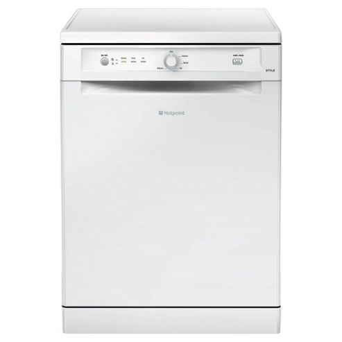 Hotpoint FDYB11011P Fullsize Dishwasher, A Energy Rating, White