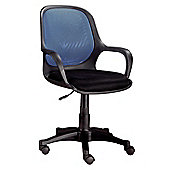 Hispanohogar Office Chair - Blue