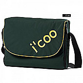 icoo Changing Bag - Green/Sand