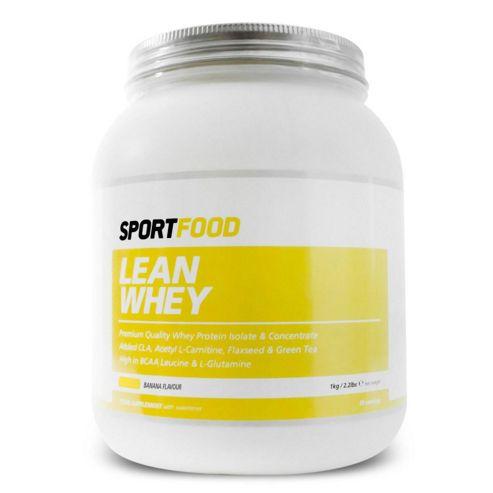 Sportfood Lean Whey 1kg - Banana