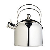 KitchenCraft Classic Traditional Whistling Kettle in Stainless Steel