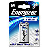 Energizer 633287 Batteries 9 Volt Lithium Battery