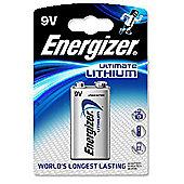 Energizer 633287 9 Volt Lithium Battery