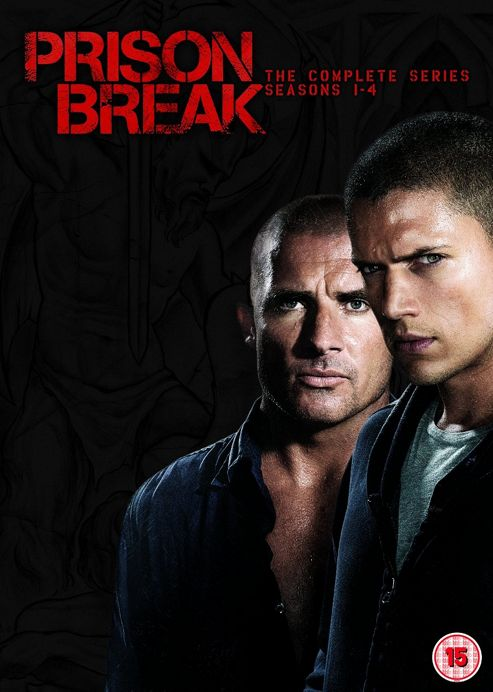 Prison Break - Series 1-4 - Complete (DVD Boxset)