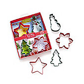 Cooksmart Kids Cookies for Santa 4 Piece Cookie Cutter Set