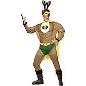 Adult Super Reindeer Costume Medium
