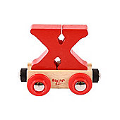 Bigjigs Rail BR124 Name Letter X (Colours Vary)