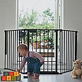 BabyDan Configure Gate Black
