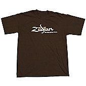 Zildjian Chocolate Classic T Shirt Medium