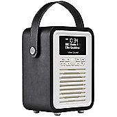View Quest Retro Mini DAB+/FM Radio with Bluetooth (Black)