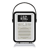 VQ Retro Mini DAB+/FM Radio with Bluetooth (Black)