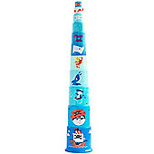 Gowi Toys 453-38 Pirate Pyramid Stacker