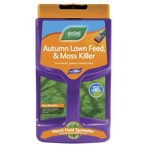Autumn Lawn Feed & Moss Killer Spreader