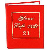 21st Birthday Your Life Photo Album