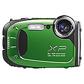 Fujifilm XP60 Tough 5x optical zoom 16mp Green camera