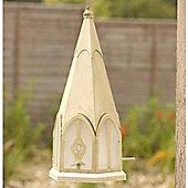Church Bird Feeder Garden Sculpture / Ornament