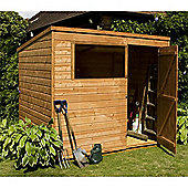 8ft x 6ft Tongue & Groove Pent Shed
