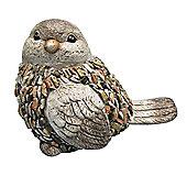 Bird and stones ornament