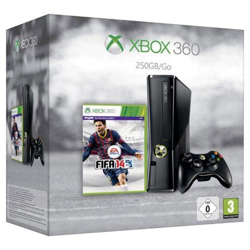 Xbox 360 250GB Console + Fifa 14