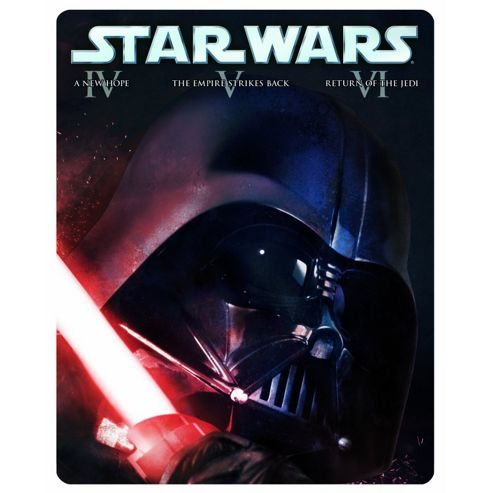 Star Wars Original Trilogy Limited Edition Steelbook (Blu-Ray Boxset)