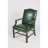 Curzon Gallery Collection Conference Armchair with Foam Interior - Green